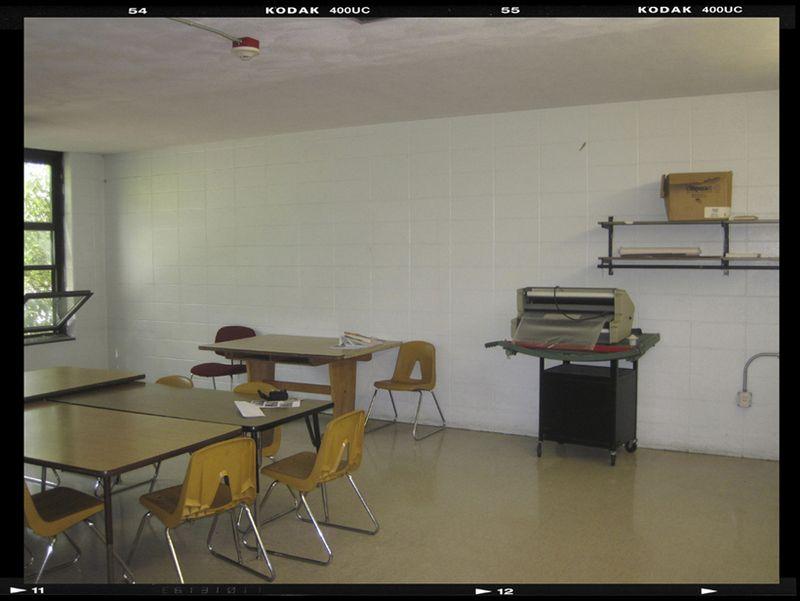 Decor demon   teachers lounge before 2