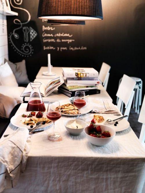 Home dining like restaurant 2
