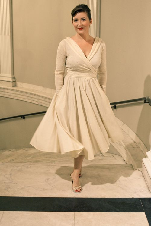 From me to you - blogger - museum opening - pretty dress