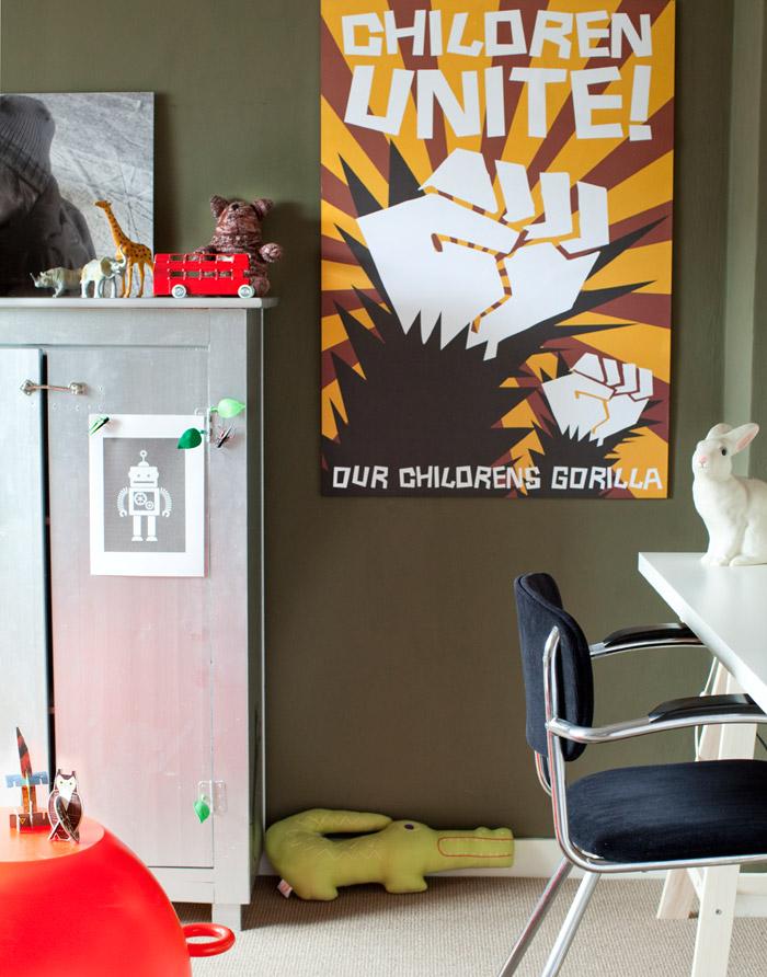 Sandra jacobs sons room via b kids - 02-06-11   2