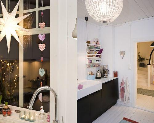 Christmas decor - kitchen - fjeldborg 1