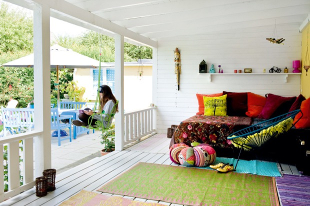 Hippie huis 1 via lille lykke