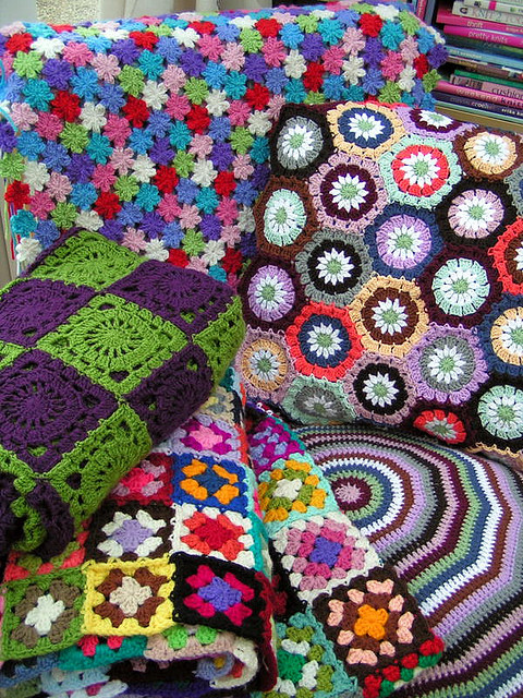 Crocheted prettiness