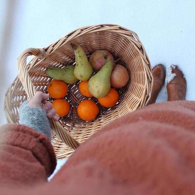 Liivia s - basket photo flickr
