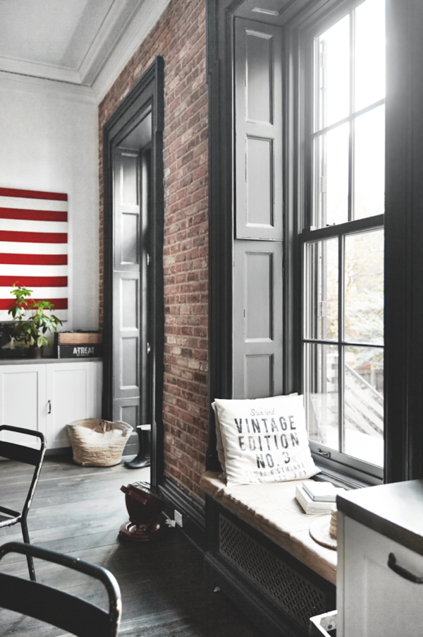 A brooklyn townhouse morning 39 s light - Deco interieur style industriel ...